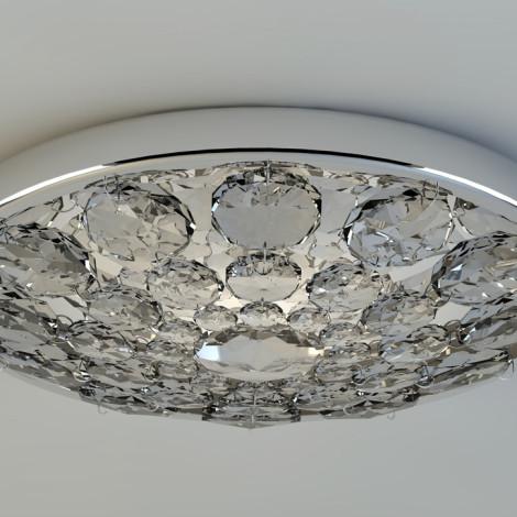 Plafonnaire LED kristal