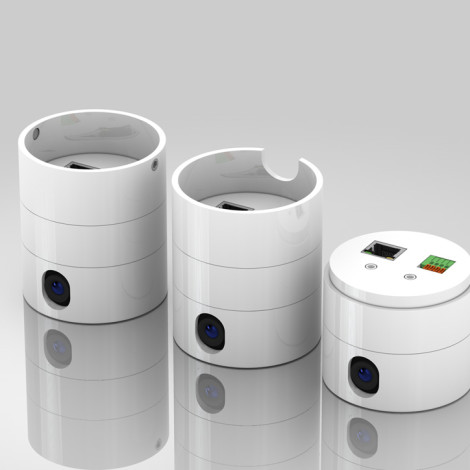 Concept productontwerp modulaire camera